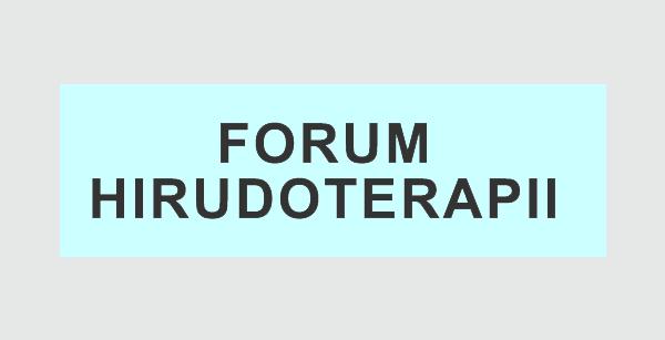 Forum Hirudoterapii